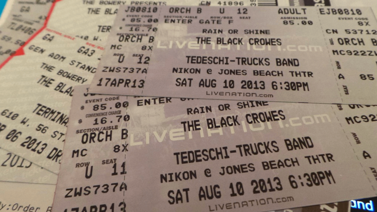 Black Crowes Come To Jones Beach!!